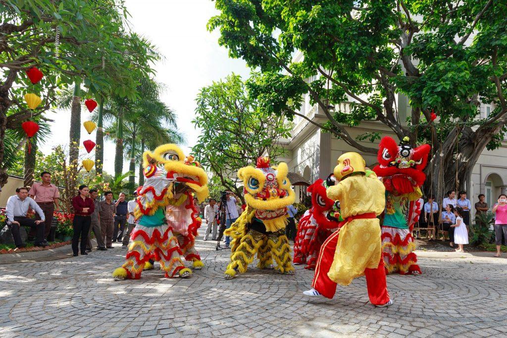 ベトナムの獅子舞を知っていますか?